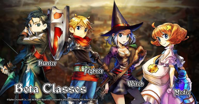 Grand Kingdom - Beta Playable Classes