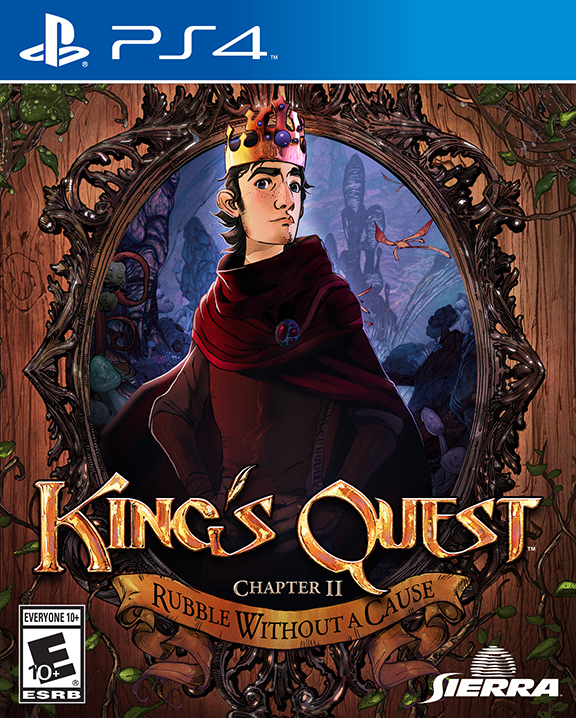 King's Quest - PS4 packshot