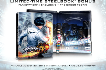 King of Fighters XIV - steelbook