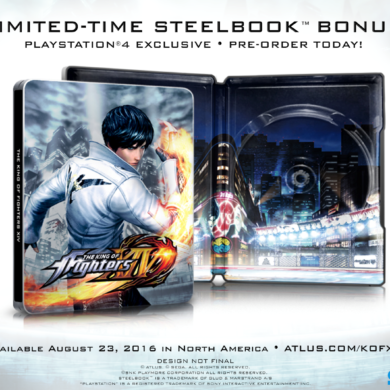 King of Fighters XIV - steelbook