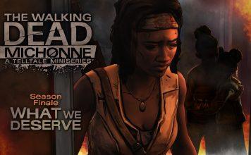 The Walking Dead: Michonne - chapter logo