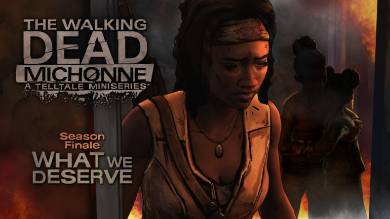 The Walking Dead: Michonne - chapter logo