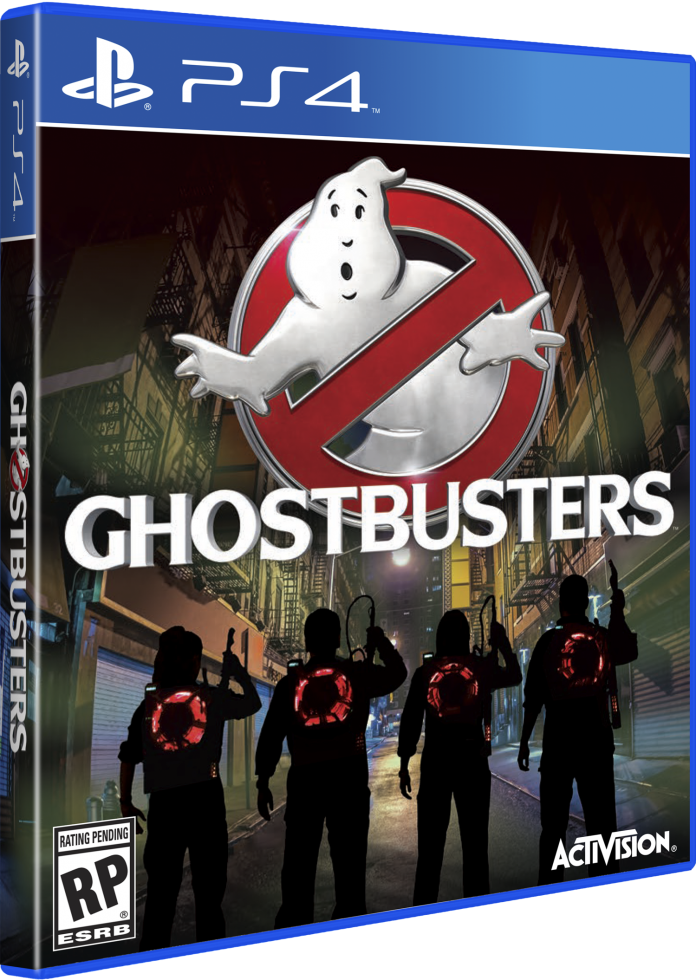 Ghostbusters - PS4 box