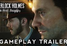 Sherlock Holmes: The Devil's Daughter - cover