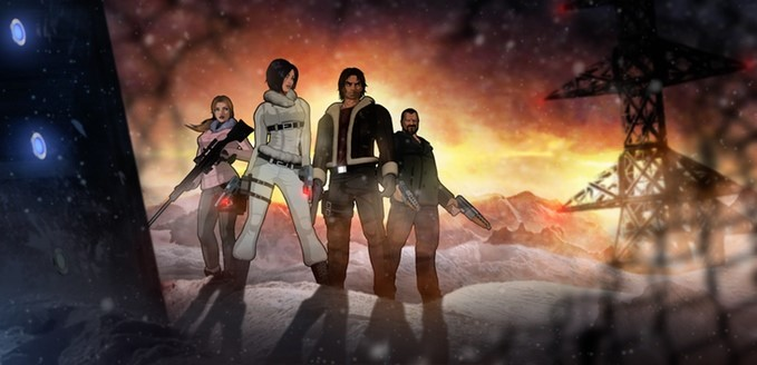 Fear Effect Sedna - team