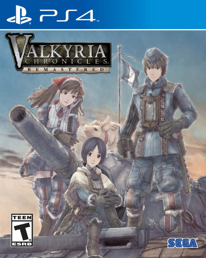 Valkyria Chronicles Remastered - packshot
