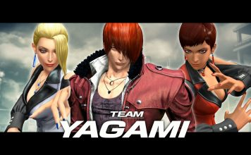 King of Fighters XIV - Team Yagami