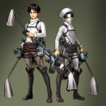 Attack on Titan - Eren & Levi cleaners