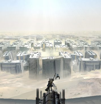 NieR: Automata - wasteland