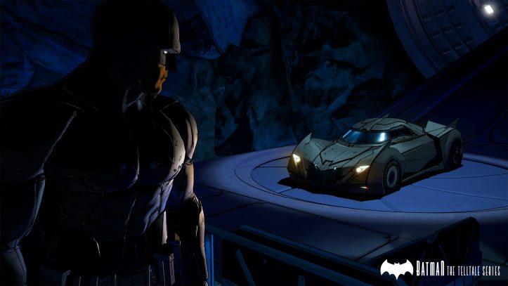 Batman: The Telltale Series - The Batmobile