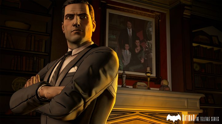 Batman: The Telltale Series - Bruce in Wayne Manor