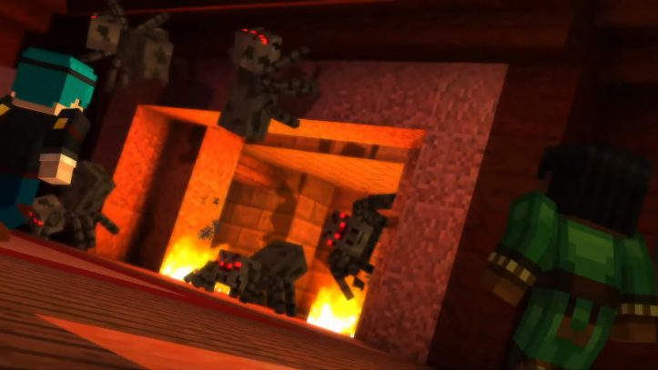 Minecraft: Story Mode - SPIDERS!