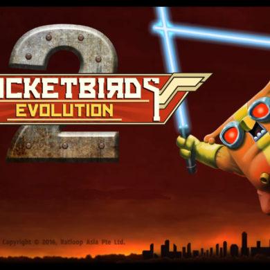Rocketbirds 2: Evolution - Start screen