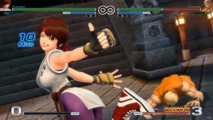 King of Fighters XIV - Yuri finish