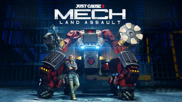 Just Cause 3 - Mech Land Assault cover