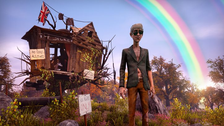 We Happy Few - rainbow