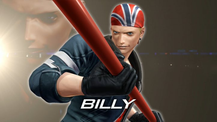 King of Fighters XIV - Billy Kane