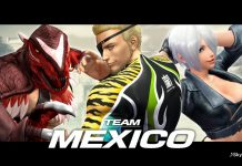 King of Fighters XIV - Team Mexico