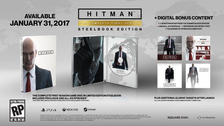 HITMAN - disc contents