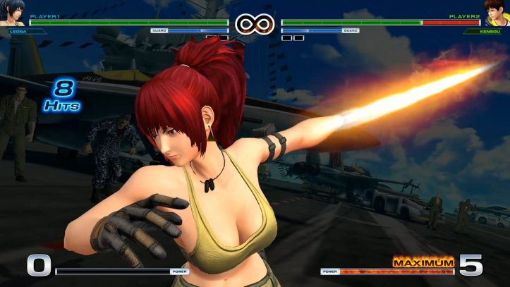 King of Fighters XIV - Leona's Blade
