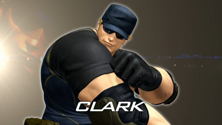 King of Fighters XIV - Clark
