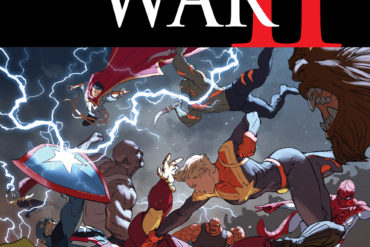 Civil War II 5 Cover