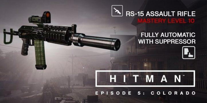 HITMAN - RS-15 Assault Rifle