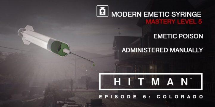 HITMAN - Emetic Syringe