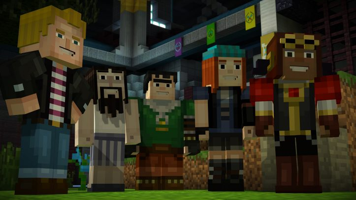Minecraft: Story mode - the Order reunited