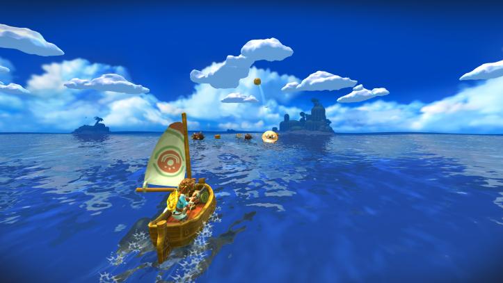 Oceanhorn - Monster of Uncharted Seas - Sailing
