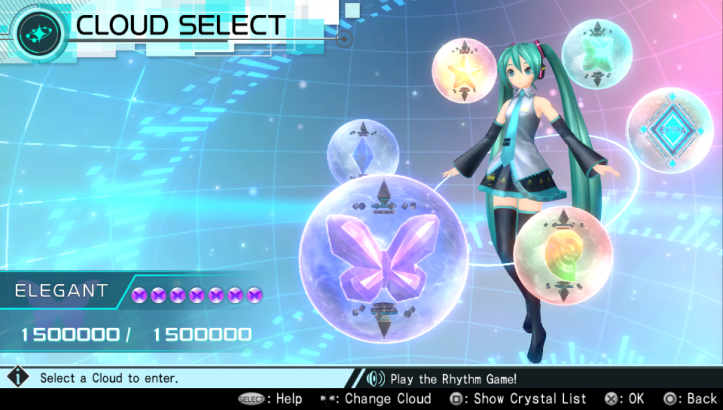 Hatsune Miku: Project Diva X - Cloud Select