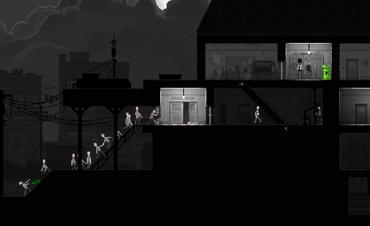 Zombie Night Terror - horde