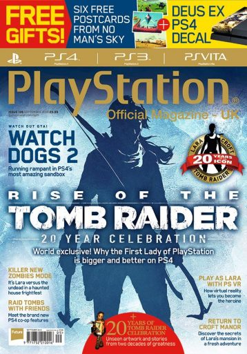 Tomb Raider - most magazines