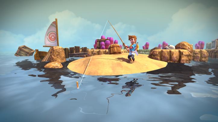 Oceanhorn - fishing