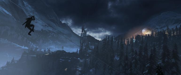 Rise of the Tomb Raider - sliiiiiiiide