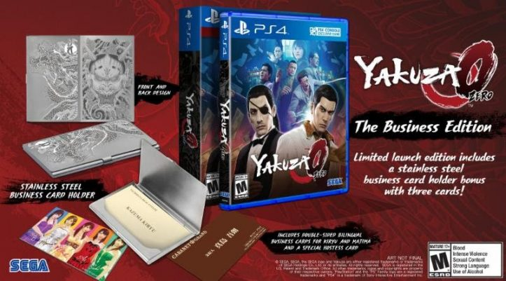 Yakuza 0 - Business Edition