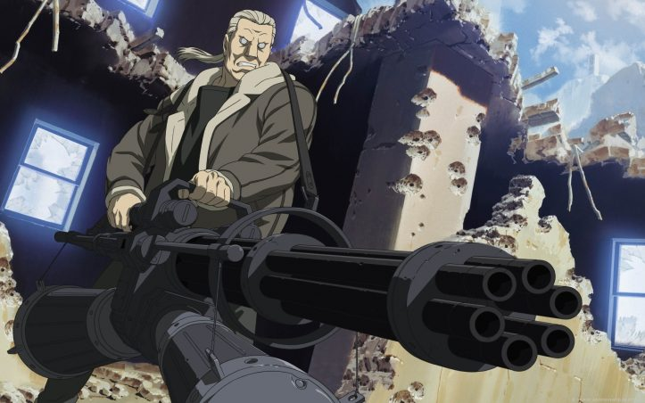 31 Days of Anime - Badass Batou