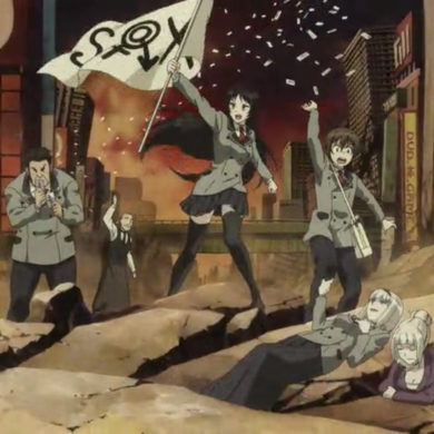 31 Days of Anime - Shimoneta