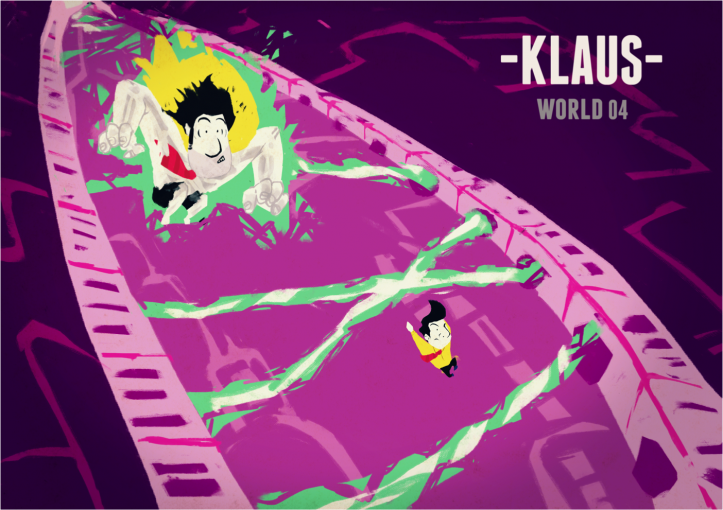 -Klaus- - Level concept art