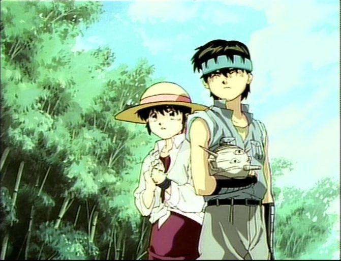 3x3 Eyes - Pai & Yakumo