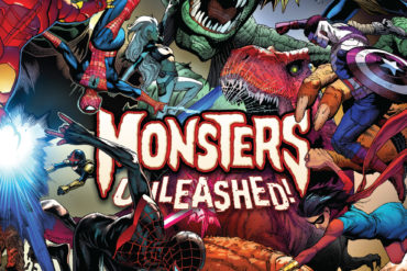 Monsters Unleashed 1 Cover