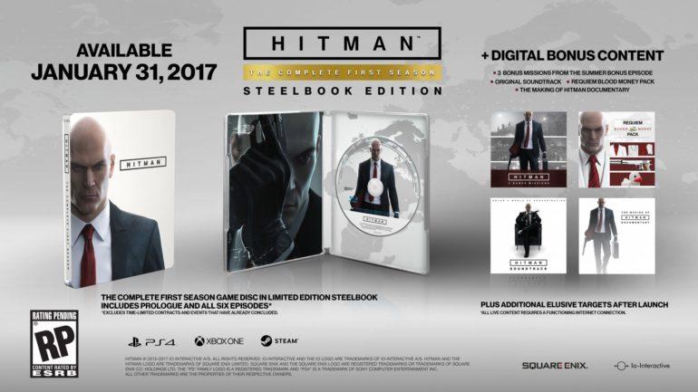 HITMAN - complete first season