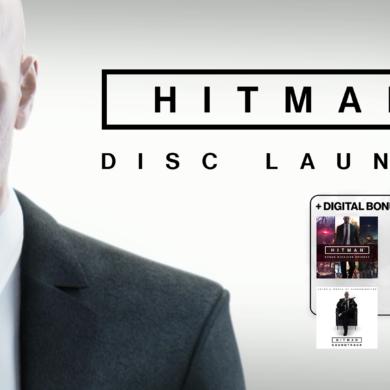 HITMAN - Disc launch Image