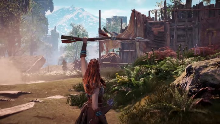 Horizon Zero Dawn - Alow stands ready