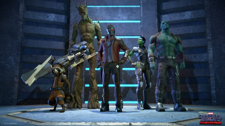 TTG Guardians of the Galaxy - roll call