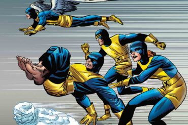 X Men Blue 1 Kirby 100th Variant