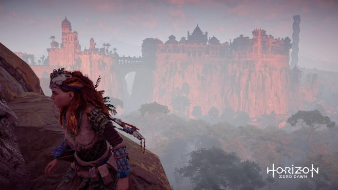 Horizon Zero Dawn - Aloy on the move