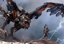 Horizon Zero Dawn - Aloy vs Stormbird