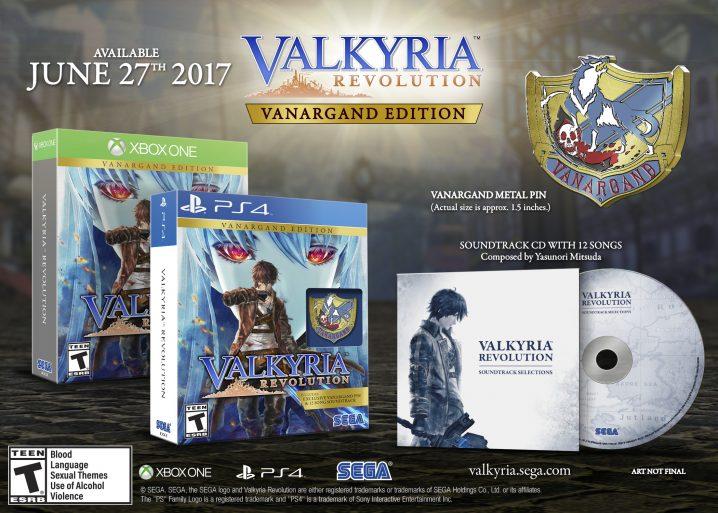 Valkyria Revolution - Vanargand Edition
