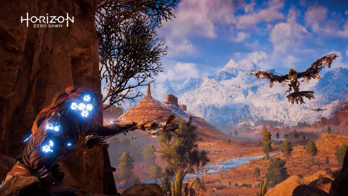 Horizon Zero Dawn - Stormbird in Sights